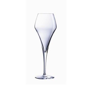 Open Up Set of 6 effervescent flute glasses, 7oz