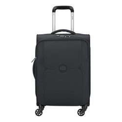 Mercure 4 wheel cabin trolley case, 55cm, black