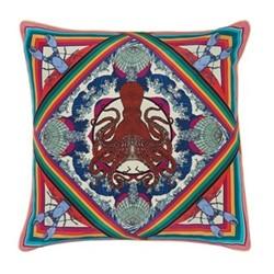 Octoscopic Cushion, L45 x W45cm, pink