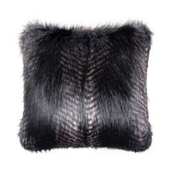 Signature Collection Cushion, 40 x 40cm, black quail