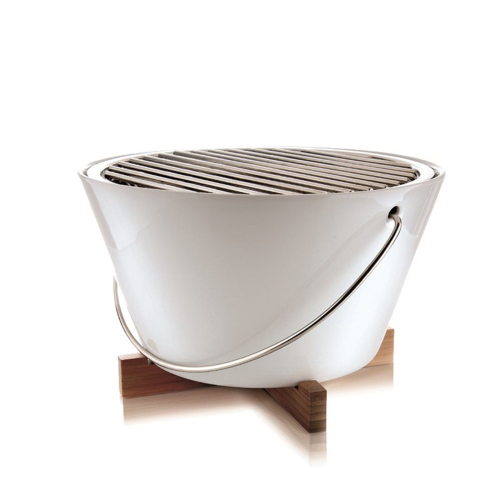 Table grill, 30cm, White