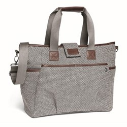 Tote style changing bag, panama grey
