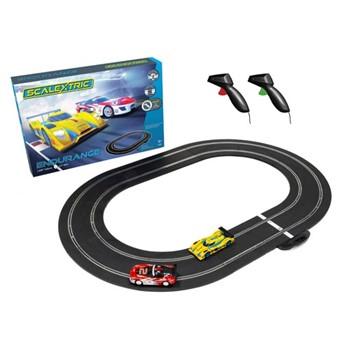 GT vs LMP Endurance, track length: 255cm