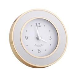 Chiffon Alarm clock, L11.3 x W11.3 x H5.6cm, gold