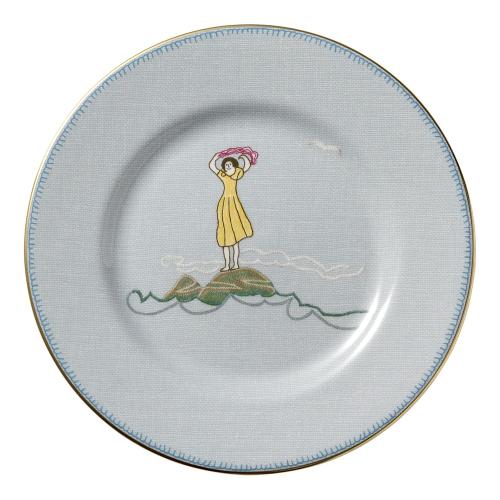 Sailors Farewell Plate, 17cm