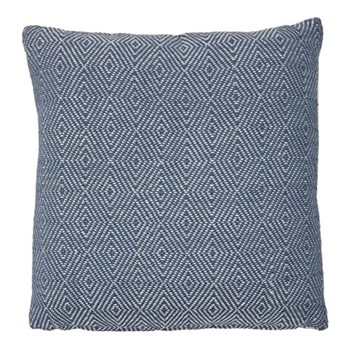Diamond Cushion, L45 x W45cm, navy