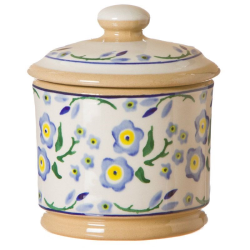 Forget Me Not Covered sugar bowl, H11cm