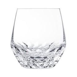 Folia Medium tumbler, H10 x D9.8cm, clear crystal