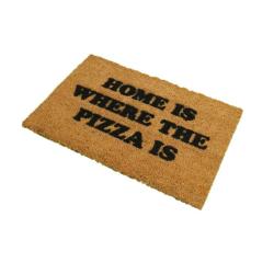 Where The Pizza Is Doormat, L60 x W40 x H1.5cm