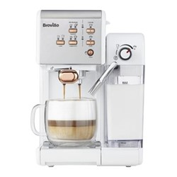 One Touch - VCF108 Coffee machine, 1.4 litres, white & rose gold