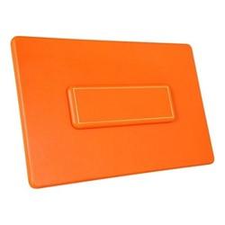 Chelsea Landscape table planner, 35.6 x 23.4cm, tangerine