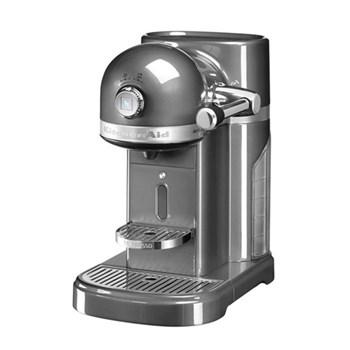Artisan with Aeroccino - 5KES0504BMS Coffee machine by KitchenAid, medallion silver