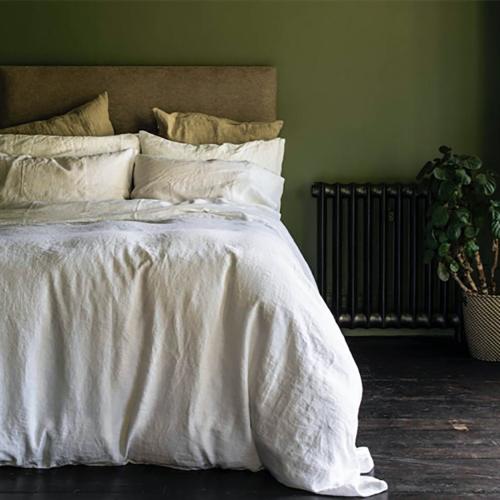 Pair of standard pillowcases, 50 x 75cm, White