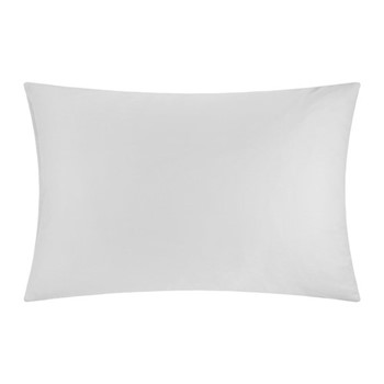Egyptian Cotton Pair of pillowcases, W50 x L75cm, silver