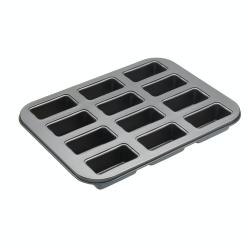 Mini loaf tin with 20 holes, 36 x 27cm, Non-Stick