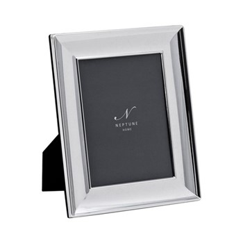 """Porter Photo frame, 6 x 8"""", silver plated"""