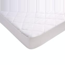 Anti-Allergy Double mattress protector, L190 x W135cm, Peach
