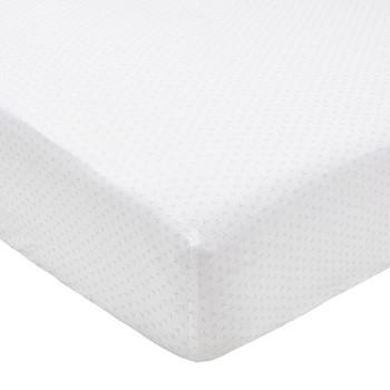 Tua Super king size fitted sheet, L200 x W180 x H34cm, blush