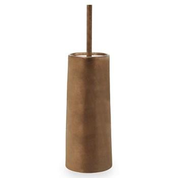 Patina Toilet brush holder, D11.2 x H38.5cm, vintage bronze