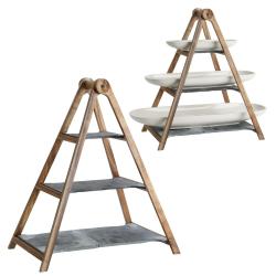 Artesano Tray stand, Wood