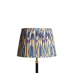 Ikat printed lampshade H20 x D30cm