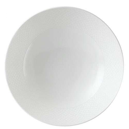 Gio Serving bowl, 28cm, White/ Bone China