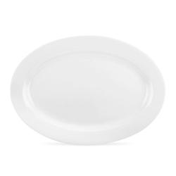 Serendipity Oval platter, 30cm, White
