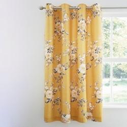 Canterbury Black-out curtains, 168 x 183cm, ochre