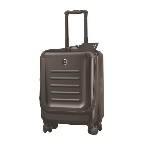 Spectra 2.0 Cabin sized travel case with dual access, 20 x 38 x 55cm, black