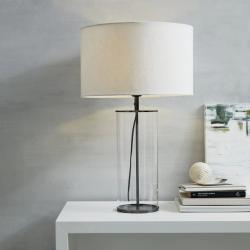 Pimlico Table lamp, H66 x W40 x L40cm, Black