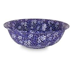 Calico Mini footed bowl, 12cm, blue