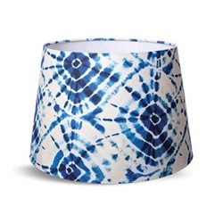 Cone lampshade with white fabric lining H30 x L45 x W45cm