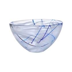 Contrast Bowl, D23cm, white