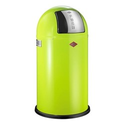 Pushboy Bin, H76 x W40cm - 50L, lime green