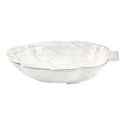 Artichoke Salad bowl, 35.5 x 30.9 x 7.6cm, white