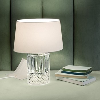 Tommy Small lamp, clear crystal