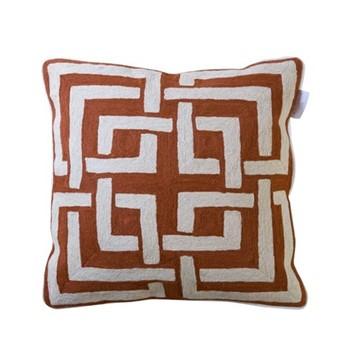 Marrakesh Cushion, 55 x 55cm, coral
