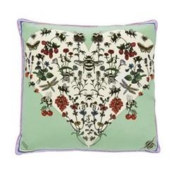 Bumble Bee Love Cushion, L45 x W45cm, multi