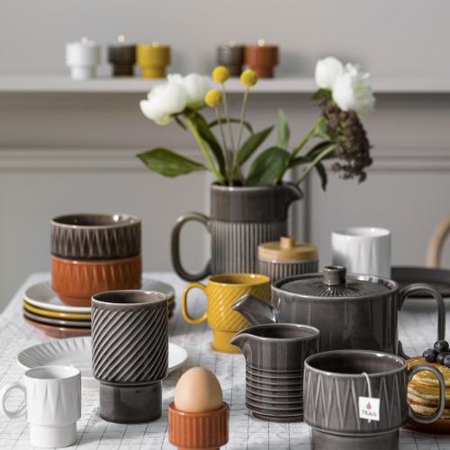 Coffee & More Tea mug, 400ml, Terracotta