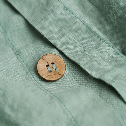Double duvet cover, 200 x 200cm, sage green