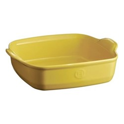 Provence Set of 3 square oven dishes, L28 x W24cm - 180cl, yellow