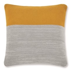Digby Knitted cushion, W50 x H50cm, multi