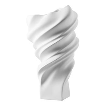 Squall Vase, 32cm, matt white