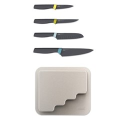 DoorStore Set of 4 knives, grey