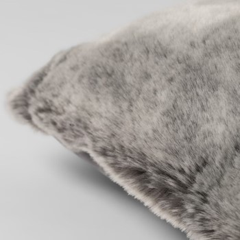 Dalmar Cushion with pad, L75 x W50cm, smoke