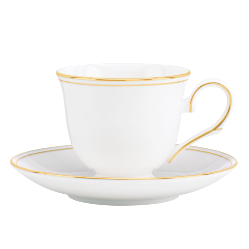 Federal Gold Teacup and saucer