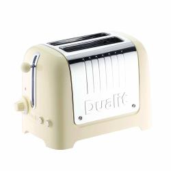 Lite 2 slot toaster, Cream