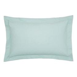 200TC Plain Dye Oxford pillowcase, L74 x H48cm, jade