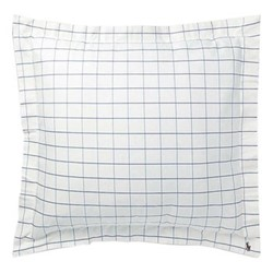 Baxter Square pillow sham, 65 x 65cm, blue