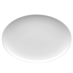 Loft Oval platter, 40cm, White